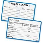 Tabbies Medical Information Card TAB54652