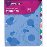 Avery Studio Collection Bubbles Design Tabbed Divider AVE17173