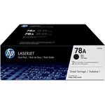 HP 78A (CE278D) 2-pack Black Original LaserJet Toner Cartridges HEWCE278D