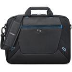 "Solo Tech Carrying Case (Briefcase) for 16"" Notebook - Black, Blue USLTCC104420"