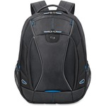 """Solo Tech Carrying Case (Backpack) for 17.3"""" Notebook, iPad, Digital Text Reader, Tablet PC - Blue USLTCC703420"""