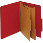 Globe-Weis Colored Press Board Classification Folder GLW24025