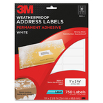 3M Address Label MMM3800A