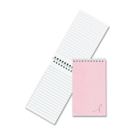 Rediform National Pink Ribbon Memo Book RED31121