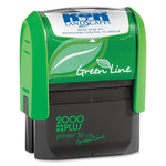 COSCO 2000 Plus Green Line Self-inking Stamp COSGP30