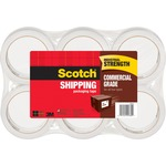 Scotch 375 Commercial-Grade Packaging Tape MMM37506-BULK