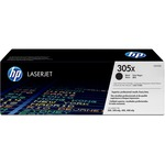 HP 305X (CE410X) High Yield Black Original LaserJet Toner Cartridge HEWCE410X