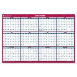 AT-A-GLANCE Laminated/Erasable Wall Calendar AAGPM326P28