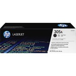 HP 305A (CE410A) Black Original LaserJet Toner Cartridge HEWCE410A