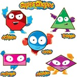 Carson-Dellosa Super Shape Bulletin Board Set CDP110174