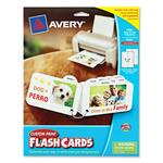 Avery Custom Print Flash Card AVE04783