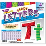 Trend Furry Friends Ready Letter & Symbol TEPT79801