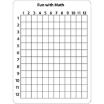 ChenilleKraft 2-Sided Math Whiteboard CKC987610