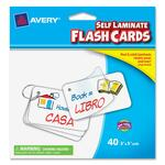 Avery Printable Flash Card AVE15348