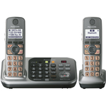 Panasonic DECT 6.0 1.90 GHz Cordless Phone - Silver PANKXTG7742S