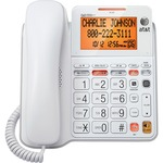 AT&T CL4940 Standard Phone - White ATTCL4940