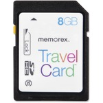 Memorex TravelCard 8 GB Secure Digital High Capacity (SDHC) MEM99032