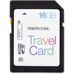 Memorex TravelCard 16 GB Secure Digital High Capacity (SDHC) MEM99031