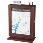 Safco Customizable Wood Suggestion Box SAF4236MH