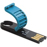 Verbatim 8GB Micro Plus USB Flash Drive - Caribbean Blue VER97759