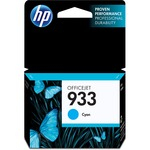 HP 933 Cyan Original Ink Cartridge HEWCN058AN