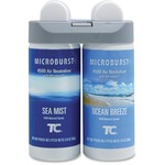 Rubbermaid 3485951 Microburst Duet Ocean Breeze/Sea Mist RCP3485951