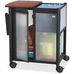 Safco Impromptu Personal Mobile Storage Center with Hanging File SAF5378BL
