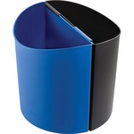 Safco Small 3 Gallon Desk-Side Receptacles SAF9927BB