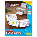 Avery Printable Flash Card AVE04761