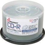 Skilcraft CD Recordable Media - CD-R - 52x - 700 MB - 1 Pack Spindle NSN5214221