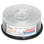 Skilcraft CD Recordable Media - CD-R - 52x - 700 MB - 25 Pack Spindle NSN5992657