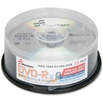 Skilcraft DVD Recordable Media - DVD-R - 8x - 4.70 GB - 25 Pack Spindle NSN5992658