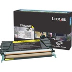 Lexmark C746, C748 Yellow Return Program Toner Cartridge LEXC746A1YG
