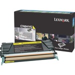 Lexmark Toner Cartridge - Yellow LEXC748H1YG