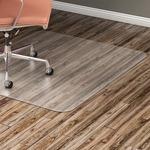 Lorell Nonstudded Design Hardwood Surface Chairmat LLR82827