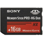 Sony 16 GB Memory Stick PRO-HG Duo SONMSHX16BM