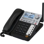 AT&T SynJ SB67148 DECT 6.0 Cordless Phone - Black, Silver ATTSB67148