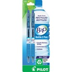 Pilot B2P Recycled Water Bottle Ball Point Pens PIL32806