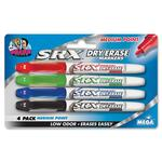 The Board Dudes SRX Dry Erase Medium Point Marker BDU4444BDUA12