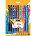 BIC BU3 Side Click Retraction Ball Pen BICBU3AP81AST
