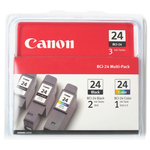Canon BCI243PK2BK Ink Tank Cartridges CNMBCI243PK2BK