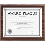 Lorell Walnut Award-A-Plaque LLR31886