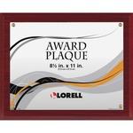 Lorell Mahogany Award-a-Plaque LLR31887