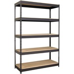 Lorell Riveted Steel Shelving LLR61622
