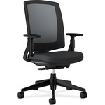 HON Lota Series Black Frame Mesh Back Work Chair HON2281VA10T