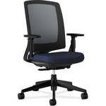 HON Lota Series Black Frame Mesh Back Work Chair HON2281VA90T
