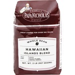 PapaNicholas Coffee Hawaiian Islands Blend Whole Bean Coffee PCO32003