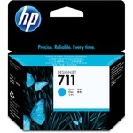 HP 711 29-ml Cyan Ink Cartridge HEWCZ130A