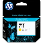 HP 711 Ink Cartridge - Yellow HEWCZ132A