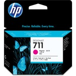 HP 711 3-Pack 29-ml Magenta Ink Cartridges HEWCZ135A